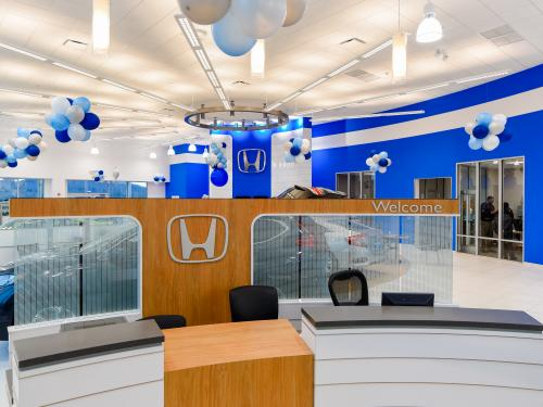 Ray Price Honda Gen 3 Image Haworth Welcome Desk