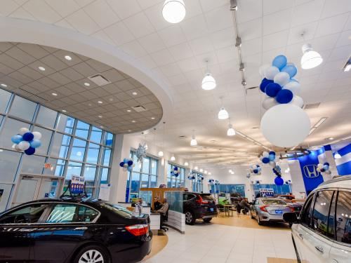 Ray Price Honda Gen 3 Image Haworth Showroom with Front Windows