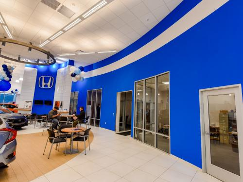 Ray Price Honda Gen 3 Image Haworth Showroom With Front Offices