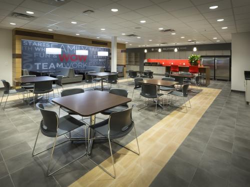 Beaver Toyota Interior employee lounge right side
