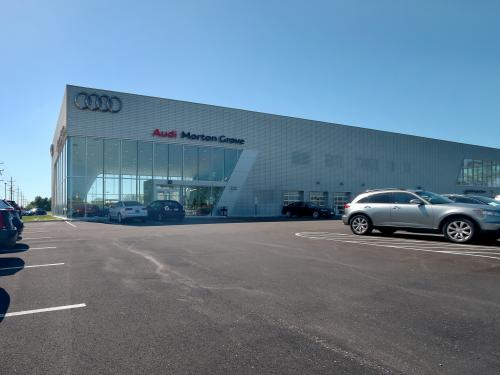 Morton Grove Audi daylight full length