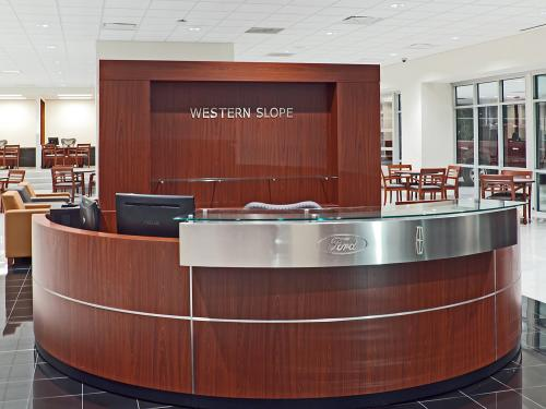 Western Slope Ford Lincoln internal Welcome Desk
