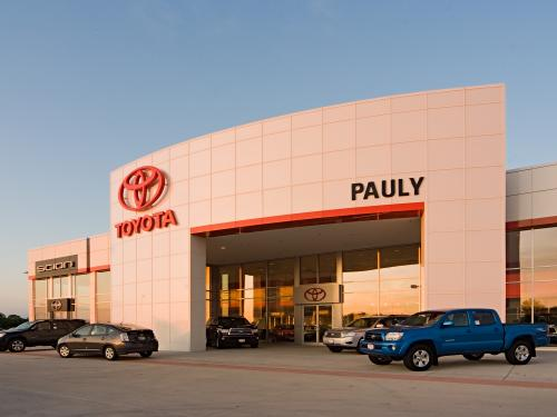 Pauly Toyota sunset front