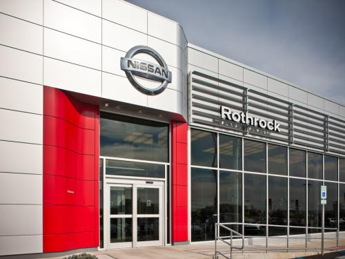 Rothrock Nissan front entrance