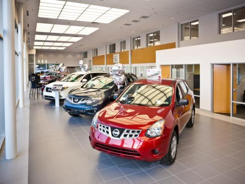 Rothrock Nissan showroom