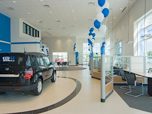 Winter Haven Honda showroom display