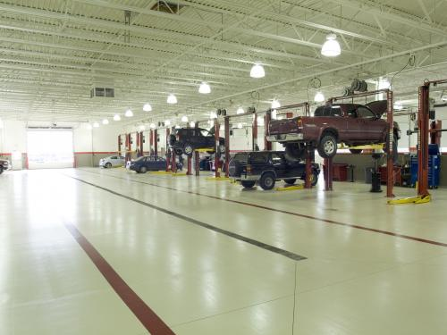Andy Mohr Toyota service bays