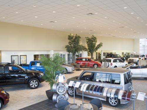 Andy Mohr Toyota  showroom