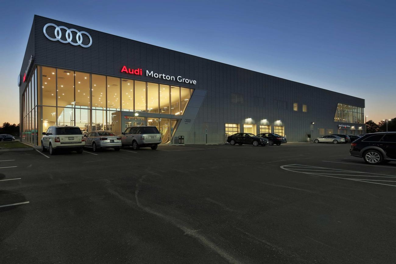 Morton Grove Audi Exterior right side