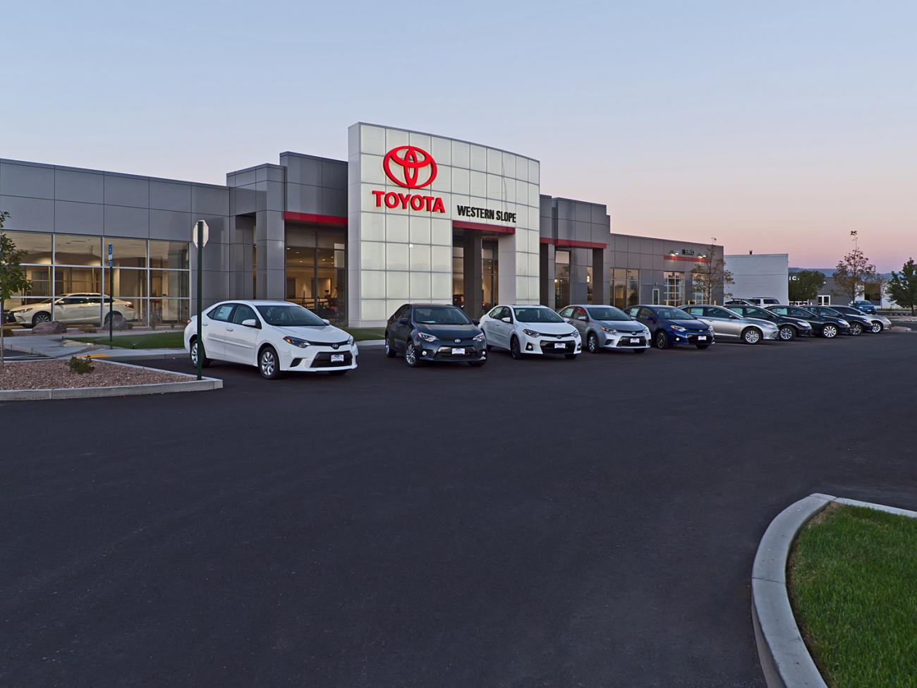 Western Slope Toyota front